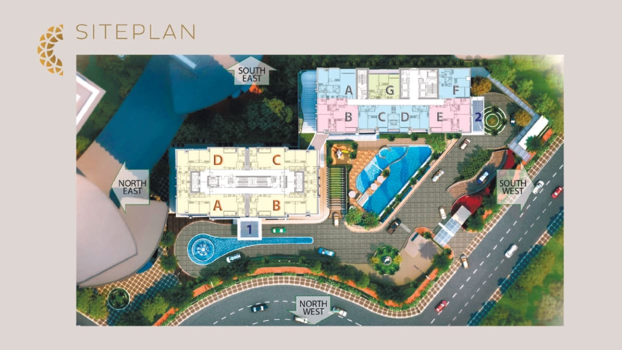 Siteplan The Elements