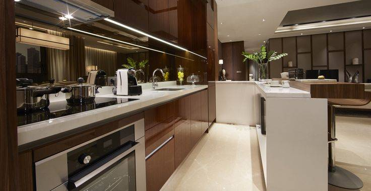 Tipe A, B, C, D view kitchen