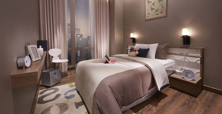Tipe A view bedroom