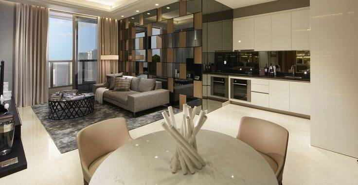 Tipe A view living room