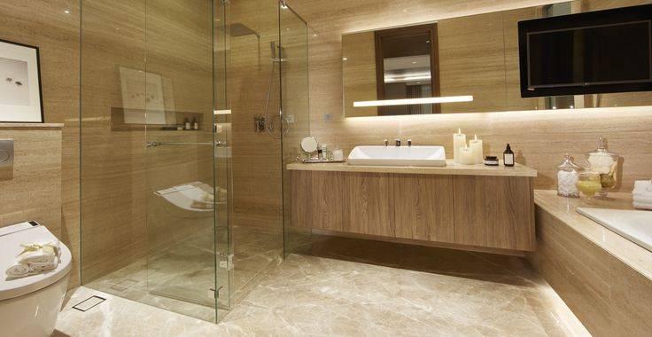 Tipe E view bathroom