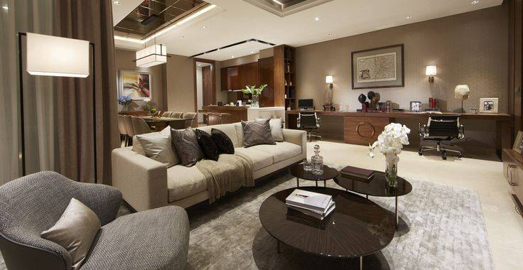 Tipe E view living room